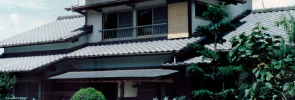 Visiting Japanese homes